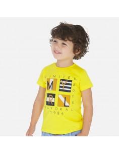 Camiseta m/c apliques -...