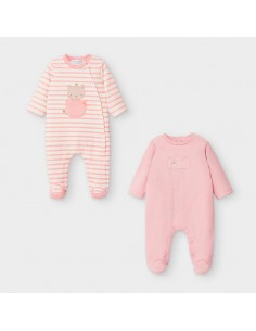 Set 2 pijamas - Blush