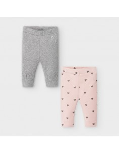 Set 2 leggings - Plomo vig