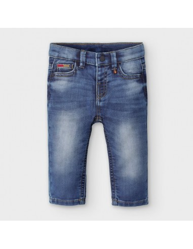 Pantalon soft denim - Basico