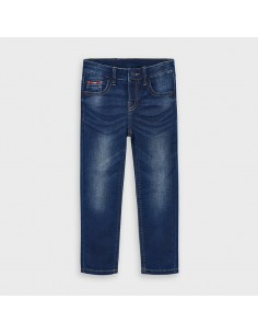 Pantalon soft denim -...