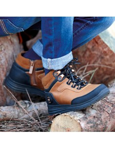 Botin outdoor - Mostaza