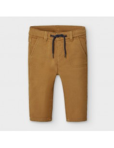 Pantalon soft regular fit -...