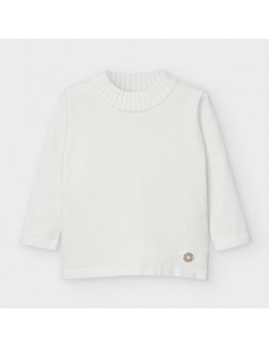 Semicisne tricot basico - Crudo