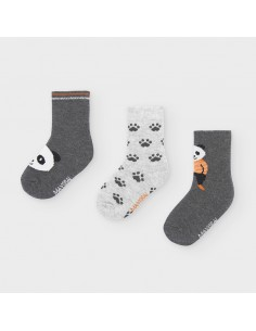 Set 3 calcetines panda -...