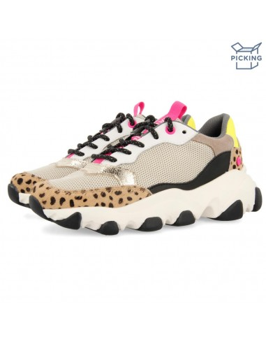 Sneakers de print animal para niñas