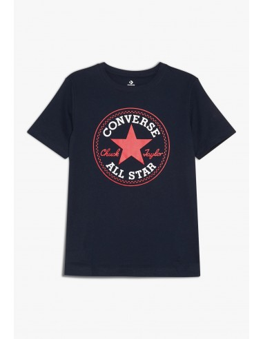 CORE CHUCK PATCH TEE OBSIDIAN/RED