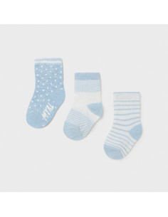 Set 3 calcetines - Cielo