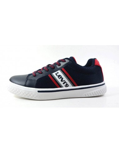 LEVI'S KIDS SNEAKERS FUTURE X- NAVY RED