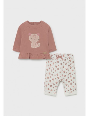 Conj. pantalon y pullover - Terracota