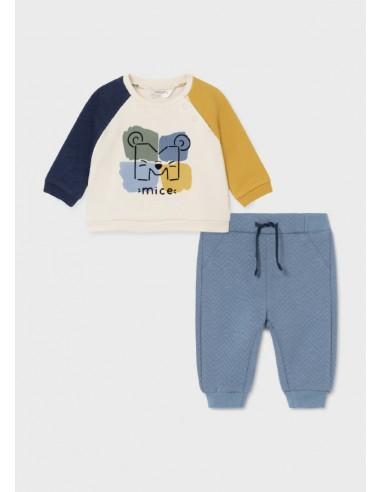 Conj. pantalon acolchado - Provenza