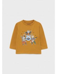 """Camiseta m/l """"myrl band"""" -..."""