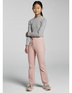 Pantalon largo tricot -...