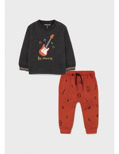 "Conj. punto homewear ""guitar"" -..."
