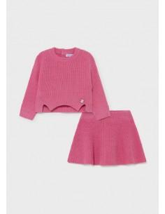 Conj. falda tricot -...