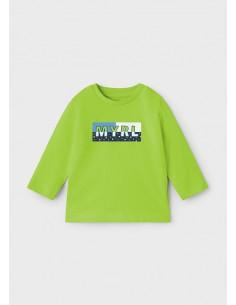 Camiseta m/l basica -...