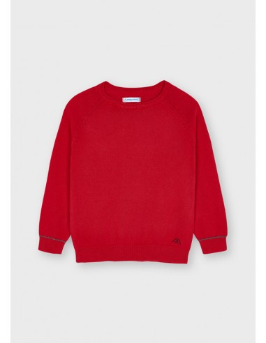 Jersey algodon basico c/redon - Rojo...