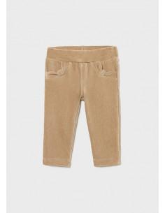 Pantalon punto pana basico...