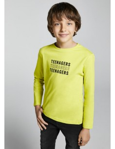 Camiseta m/l basica - Lima...