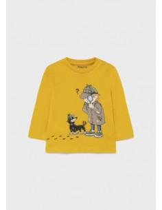 Camiseta m/l detective -...