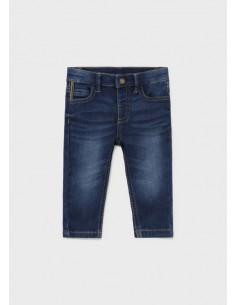 Pantalon soft denim -...