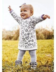 Vestido tricot - Crudo