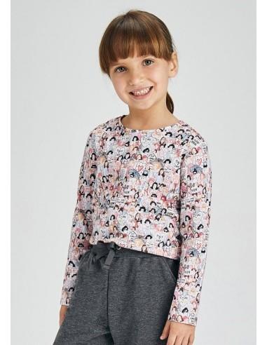 Set 2 camisetas m/l - Rosa palo