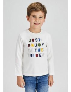 """Camiseta m/l """"just enjoy"""" -..."""