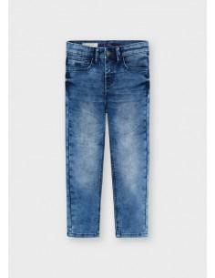 Pantalon soft denim - Medio...