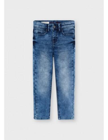 Pantalon soft denim - Medio