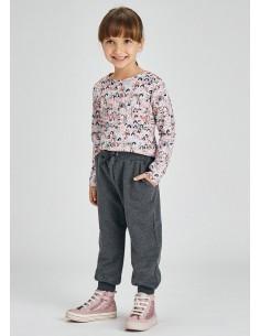 Pantalon jogger felpa -...