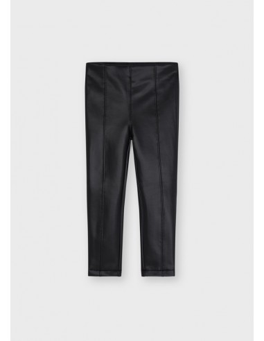 Leggings polipiel - Negro