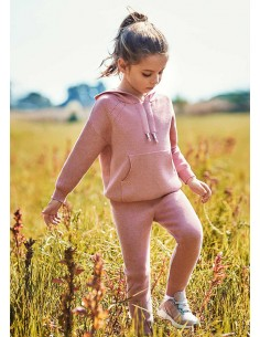 Chandal tricot - Rosa palo