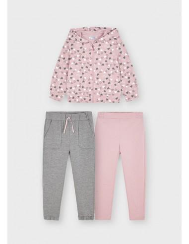 Chandal 2 pantalones - Colorete