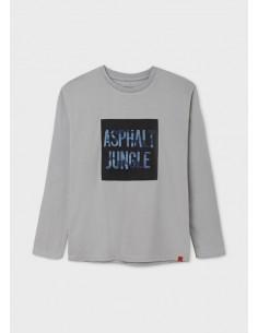 Camiseta m/l bordado...