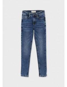 Pantalon denim skinny fit -...