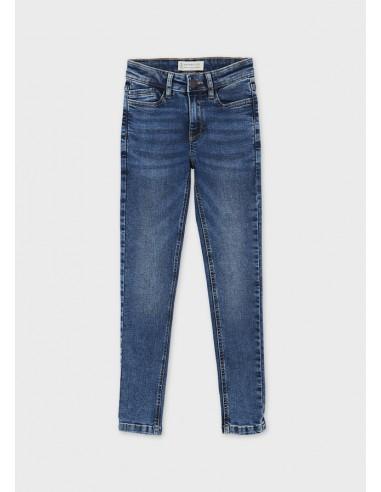 Pantalon denim skinny fit - Medio