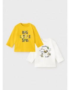 "Set 2 camisetas ""little..."