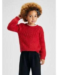 Jersey lurex - Rojo