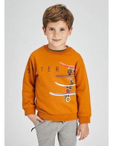 """Pullover serigrafia """"skater"""" - Ginger..."""