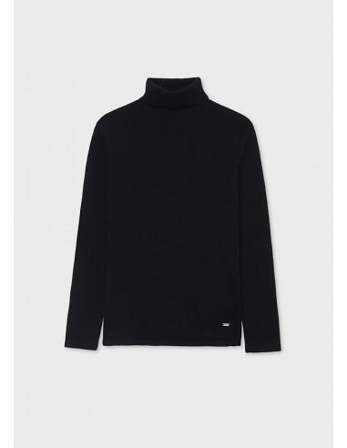 Cisne tricot basico - Negro