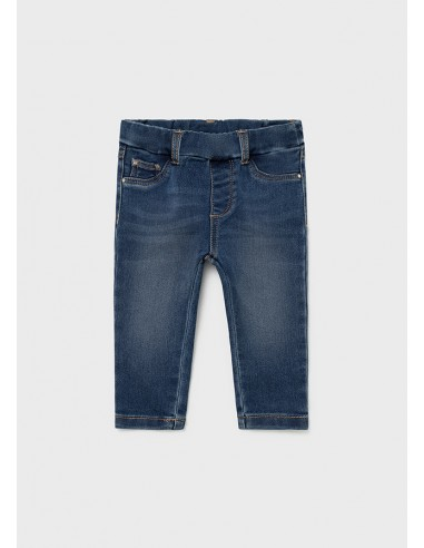 Pantalon cerrado tejano basic - Medio...