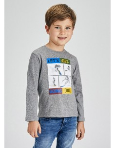 Camiseta m/l esquiadores -...