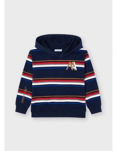 Pullover rayas - Marino