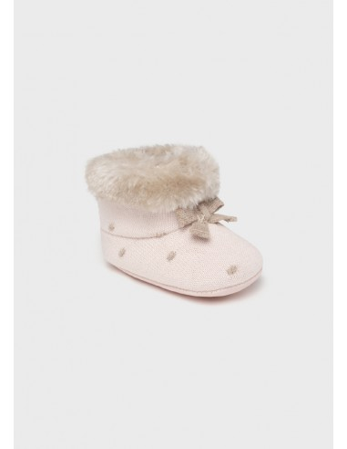 Botas tricotosa - Rosa baby
