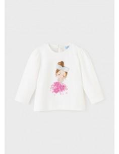 Camiseta m/l - Crd-malva