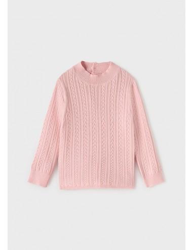 Semicisne tricot - Rosa