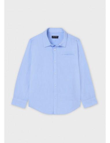 Camisa m/l basica - Lavanda