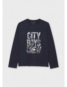 "Camiseta m/l ""city boys..."