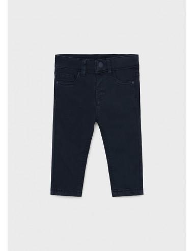 Pantalon 5b slim fit basico - Azul